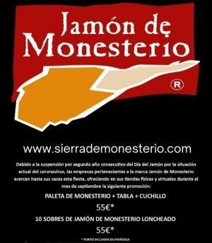 jamones ibericos en monesterio